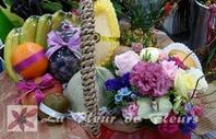 과일 꽃바구니